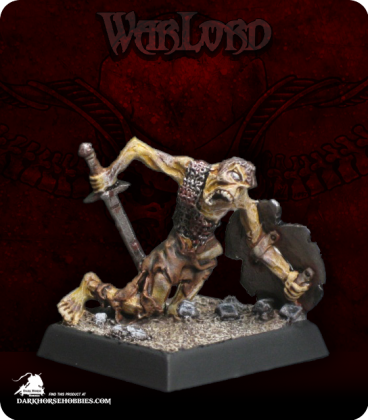 Warlord: Necropolis - Burrowing Zombie (painted by JBG)