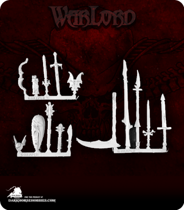 Warlord: Necropolis - Necropolis Weapons Pack