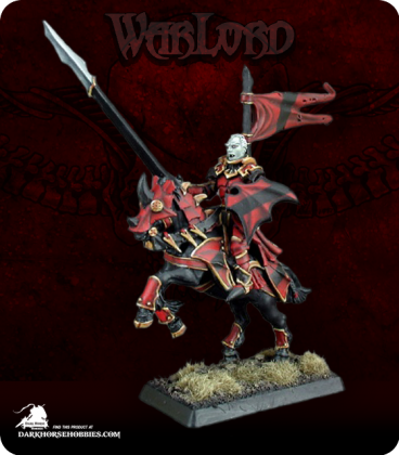 Warlord: Necropolis - Count Vandrian, Mounted Solo (painted by Anne Foerster)