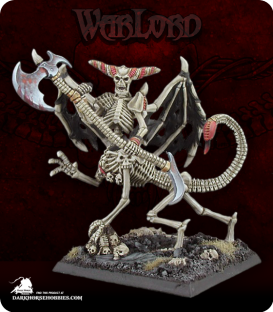 Warlord: Necropolis - Bone Horror (painted by Anne Foerster)