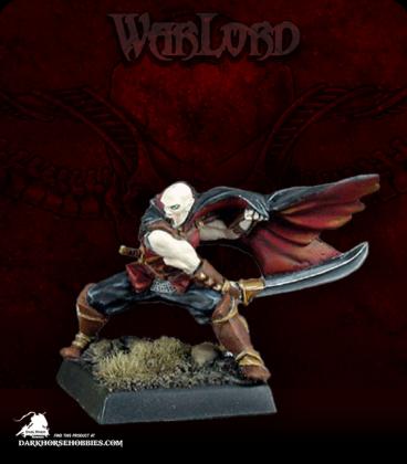 Warlord: Necropolis - Vanderast, Vampire Solo (painted by John Bonnot)