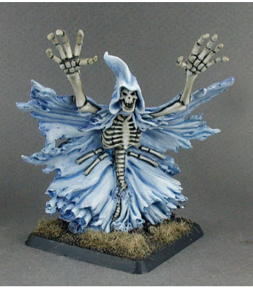 Warlord: Necropolis - Nightspectre, Hero (painted by John Bonnot)