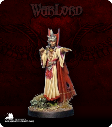 Warlord: Necropolis - Tharian, Mage (painted by Finch)