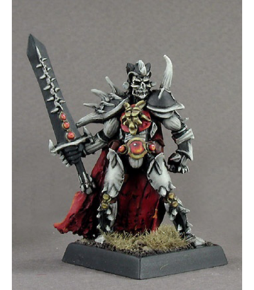 Warlord: Necropolis - Sir Dauron, Hero (painted by Anne Foerster)