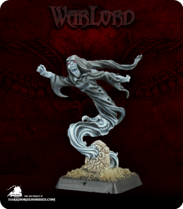 Warlord: Necropolis - Railor of the Unbodied, Sergeant (painted by Anne Foerster)