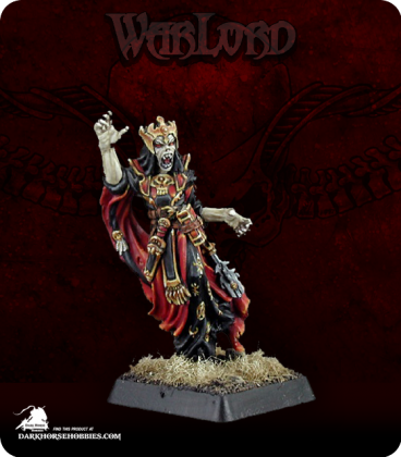 Warlord: Necropolis - Moandain, Arch-Lich Warlord (painted by Anne Foerster)