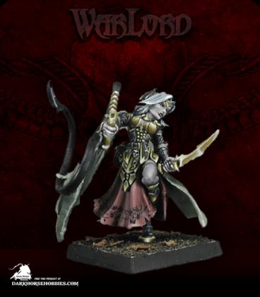 Warlord: Necropolis - Elsabeth Briarkiss, Captain (painted by Marike Reimer)