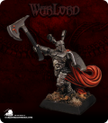Warlord: Necropolis - Sir Azarphan, Captain (painted by Marike Reimer)