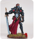 Visions in Fantasy: Male Knight With Weapon Assortment (painted by Matt Verzani)