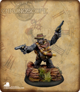 Chronoscope (Wild West): Cactus Joe, Gorilla Gunslinger (painted by Michael Proctor)