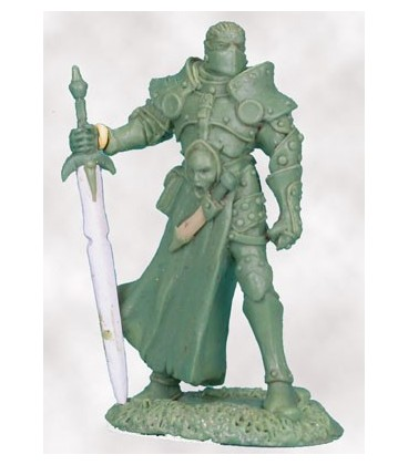 Visions in Fantasy: Male Knight with Weapon Assortment (sculpt by Gael Goumon)