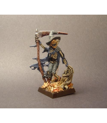 Warlord: Necropolis - Gauntfield, Scarecrow Hero (painted by James Hyde)