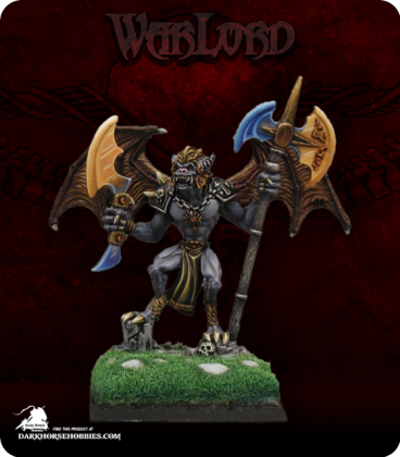 Warlord: Necropolis - Eikar, Crypt Bat Sergeant (painted by Jason Glocka)
