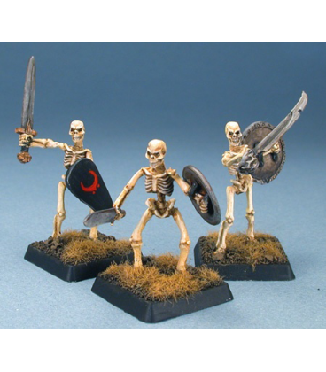 Warlord: Necropolis - Skeletal Warriors Box Set (painted by Anne Foerster)