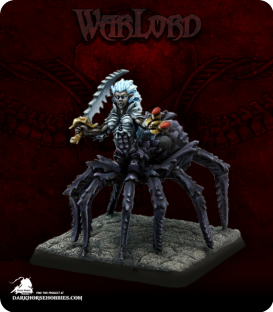 Warlord: Darkreach - Arachnillith (painted by Martin Jones)