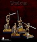 Warlord: Necropolis - Skeletal Swordsmen Box Set (painted by Jeff See)