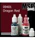 Master Series Paint: Bones Colors - 09401 Dragon Red (1/2 oz)