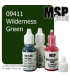 Master Series Paint: Bones Colors - 09411 Wilderness Green (1/2 oz)