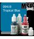 Master Series Paint: Bones Colors - 09419 Tropical Blue (1/2 oz)