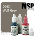 Master Series Paint: Bones Colors - 09434 Wolf Grey (1/2 oz)