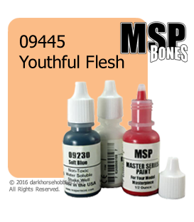 Master Series Paint: Bones Colors - 09445 Youthful Flesh (1/2 oz)