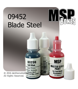 Master Series Paint: Bones Colors - 09452 Blade Steel (1/2 oz)