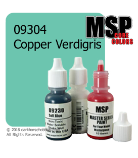 Master Series Paint: Core Colors - 09304 Copper Verdigris (1/2 oz)