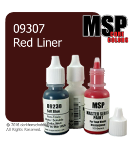 Master Series Paint: Core Colors - 09307 Red Liner (1/2 oz)