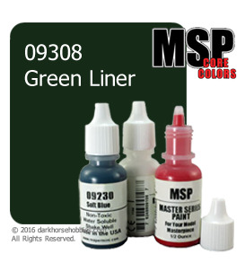 Master Series Paint: Core Colors - 09308 Green Liner (1/2 oz)