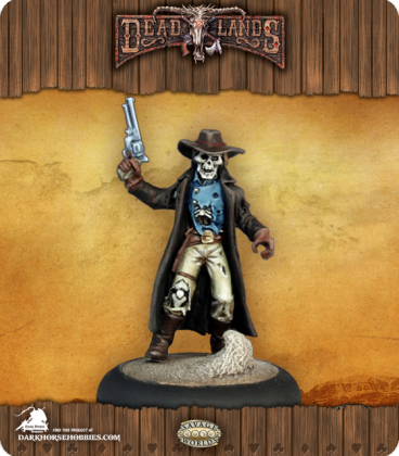Savage Worlds: Deadlands - Undead Outlaw (painted by Martin Jones)