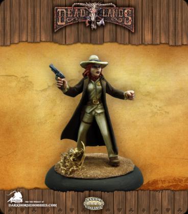 Savage Worlds: Deadlands - Texas Ranger (Female) (painted by Martin Jones)