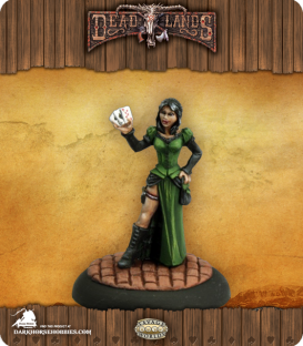 Savage Worlds: Deadlands - Female Huckster (painted by Martin Jones)