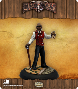 Savage Worlds: Deadlands - Baron Simone LaCroix (painted by Martin Jones)