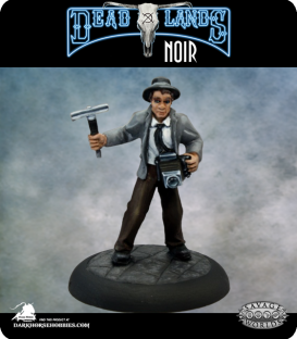 Savage Worlds: Deadlands - Lacy O'Malley, Muckraker (painted by Martin Jones)