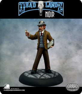 Savage Worlds: Deadlands - Muckraker (painted by Martin Jones)