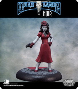 Savage Worlds: Deadlands Noir - Femme Fatale (painted by Rhonda Bender)