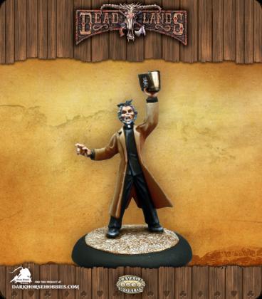 Savage Worlds: Deadlands - Reverend Grimme (painted by Martin Jones)