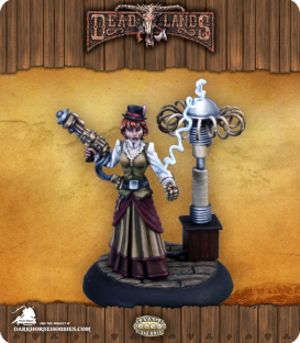 Savage Worlds: Deadlands - Mad Scientist (Female) (painted by Martin Jones)