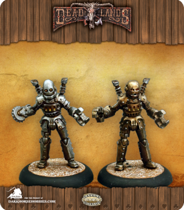 Savage Worlds: Deadlands - Automatons Set (painted by Martin Jones)