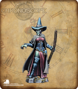 Chronoscope (Wild West): Wizard of Oz, Wicked Witch (painted by Angela Imrie)