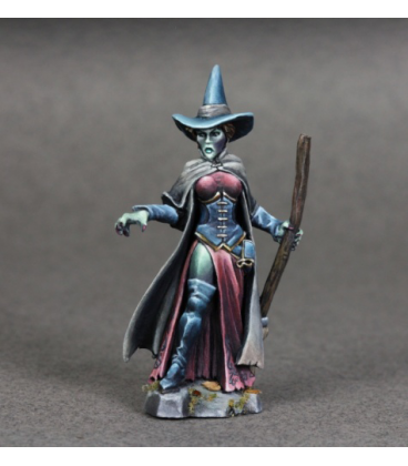 Chronoscope (Wild West): Wizard of Oz, Wicked Witch (painted by Angela Imrie)