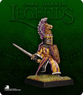 Dark Heaven Legends: Sir Michael the Gold (painted by Kevin Walker)
