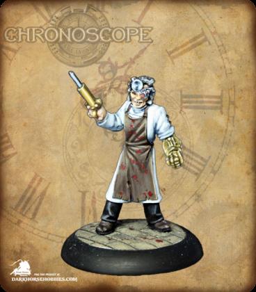 Chronoscope: Dr. Klaus Koenig (painted by Martin Jones)