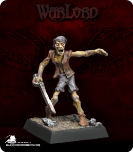Warlord: Razig - Zombie Recruit Grunt (painted by JBG)