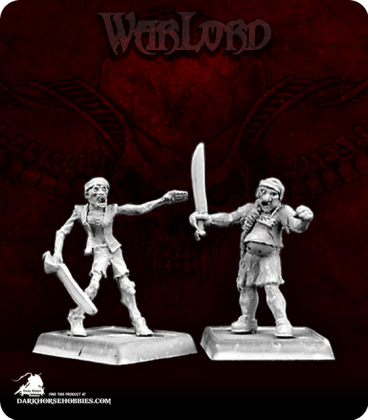 Warlord: Razig - Zombie Recruits Grunt Box Set