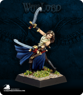 Warlord: Blade Sisters - Bladesinger Sister (painted by Martin Jones)