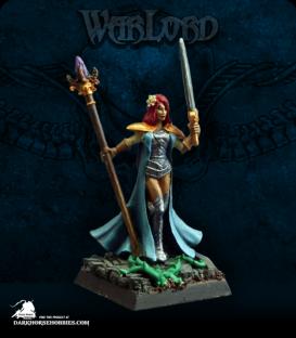 Warlord: Blade Sisters - Joeliyn, Blade Sister Warlord (painted by Angela Fischer)