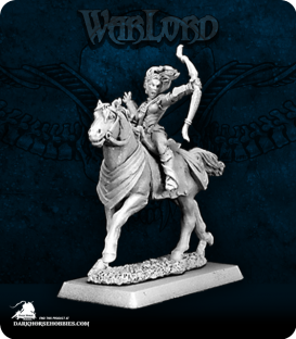 Warlord: Blade Sisters - Volendria of the Blade, Mounted