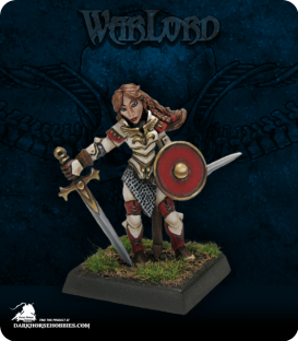 Warlord: Blade Sisters - Nicole of the Blade II, Captain (painted by Anne Foerster)