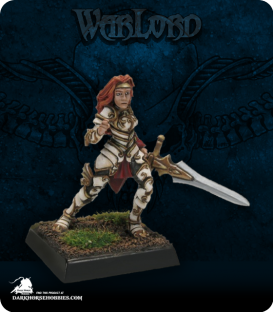 Warlord: Blade Sisters - Samantha of the Blade (painted by Anne Foerster)